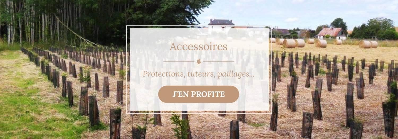 Vente d'accessoires et protections - Pépinières Naudet